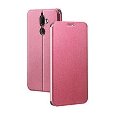 Custodia Portafoglio In Pelle con Supporto per Nokia 7 Plus Rosso