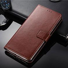 Custodia Portafoglio In Pelle con Supporto per Nokia 9 PureView Marrone