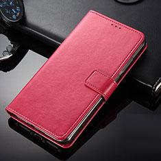 Custodia Portafoglio In Pelle con Supporto per Nokia 9 PureView Rosso