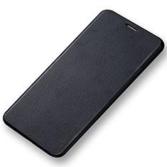 Custodia Portafoglio In Pelle con Supporto per Samsung Galaxy A7 (2016) A7100 Nero