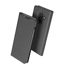 Custodia Portafoglio In Pelle con Supporto per Samsung Galaxy A9 Star Lite Nero