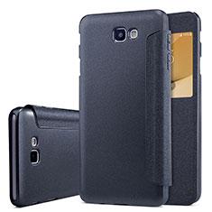 Custodia Portafoglio In Pelle con Supporto per Samsung Galaxy J5 Prime G570F Nero