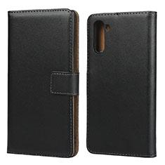Custodia Portafoglio In Pelle con Supporto per Samsung Galaxy Note 10 5G Nero