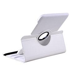 Custodia Portafoglio In Pelle con Supporto per Samsung Galaxy Tab 2 10.1 P5100 P5110 Bianco