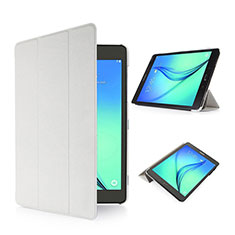 Custodia Portafoglio In Pelle con Supporto per Samsung Galaxy Tab S2 8.0 SM-T710 SM-T715 Bianco