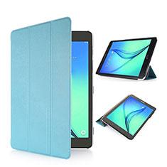 Custodia Portafoglio In Pelle con Supporto per Samsung Galaxy Tab S2 8.0 SM-T710 SM-T715 Cielo Blu
