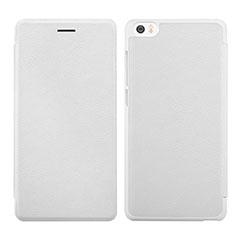 Custodia Portafoglio In Pelle con Supporto per Xiaomi Mi Note Bianco