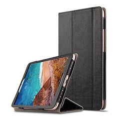 Custodia Portafoglio In Pelle con Supporto per Xiaomi Mi Pad 4 Nero