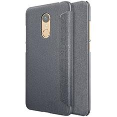 Custodia Portafoglio In Pelle con Supporto per Xiaomi Redmi 5 Plus Nero