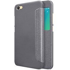 Custodia Portafoglio In Pelle con Supporto per Xiaomi Redmi Note 5A Standard Edition Nero
