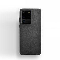 Custodia Portafoglio In Pelle Cover con Supporto C01 per Samsung Galaxy S20 Ultra Nero