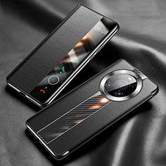 Custodia Portafoglio In Pelle Cover con Supporto K05 per Huawei Mate 40 Pro Nero