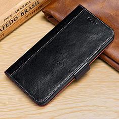 Custodia Portafoglio In Pelle Cover con Supporto L01 per Apple iPhone XR Nero