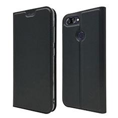 Custodia Portafoglio In Pelle Cover con Supporto L01 per Asus Zenfone Max Plus M1 ZB570TL Nero