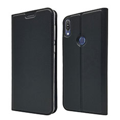 Custodia Portafoglio In Pelle Cover con Supporto L01 per Asus Zenfone Max Pro M1 ZB601KL Nero