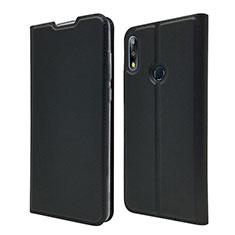 Custodia Portafoglio In Pelle Cover con Supporto L01 per Asus Zenfone Max Pro M2 ZB631KL Nero