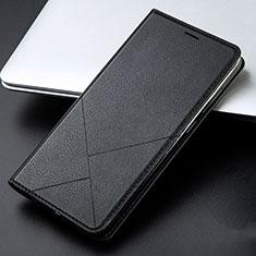 Custodia Portafoglio In Pelle Cover con Supporto L01 per Huawei Honor 9 Lite Nero