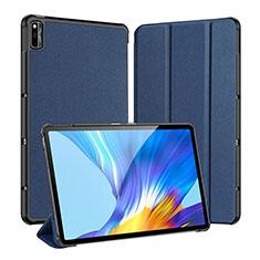 Custodia Portafoglio In Pelle Cover con Supporto L01 per Huawei Honor Pad V6 10.4 Blu