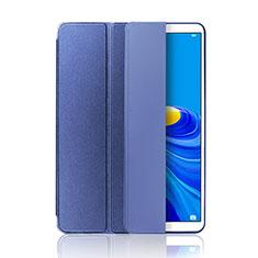 Custodia Portafoglio In Pelle Cover con Supporto L01 per Huawei MatePad 10.8 Blu