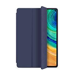 Custodia Portafoglio In Pelle Cover con Supporto L01 per Huawei MatePad Pro Blu