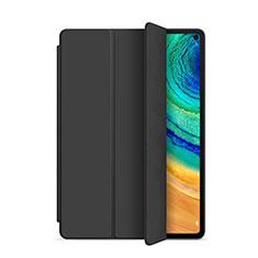 Custodia Portafoglio In Pelle Cover con Supporto L01 per Huawei MatePad Pro Nero