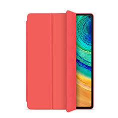 Custodia Portafoglio In Pelle Cover con Supporto L01 per Huawei MatePad Pro Rosso