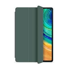 Custodia Portafoglio In Pelle Cover con Supporto L01 per Huawei MatePad Pro Verde