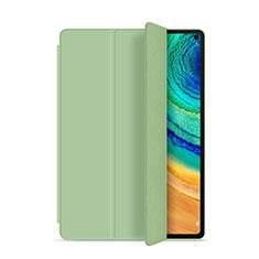 Custodia Portafoglio In Pelle Cover con Supporto L01 per Huawei MatePad Pro Verde Pastello
