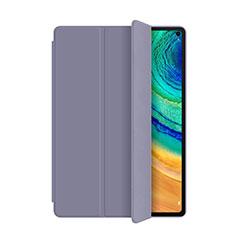 Custodia Portafoglio In Pelle Cover con Supporto L01 per Huawei MatePad Pro Viola
