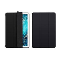 Custodia Portafoglio In Pelle Cover con Supporto L01 per Huawei MediaPad M6 10.8 Nero