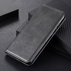 Custodia Portafoglio In Pelle Cover con Supporto L01 per Huawei P Smart (2020) Nero