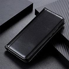 Custodia Portafoglio In Pelle Cover con Supporto L01 per Motorola Moto One Fusion Nero