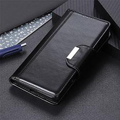 Custodia Portafoglio In Pelle Cover con Supporto L01 per Nokia 5.3 Nero