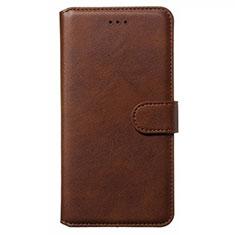 Custodia Portafoglio In Pelle Cover con Supporto L01 per Nokia 6.2 Marrone