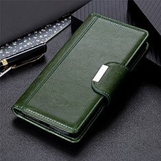 Custodia Portafoglio In Pelle Cover con Supporto L01 per Samsung Galaxy S30 5G Verde