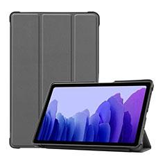 Custodia Portafoglio In Pelle Cover con Supporto L01 per Samsung Galaxy Tab A7 4G 10.4 SM-T505 Grigio