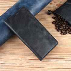 Custodia Portafoglio In Pelle Cover con Supporto L01 per Samsung Galaxy XCover Pro Nero