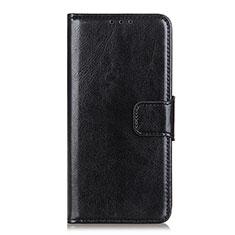 Custodia Portafoglio In Pelle Cover con Supporto L01 per Sony Xperia 5 II Nero