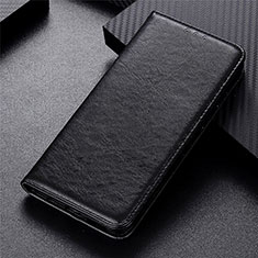 Custodia Portafoglio In Pelle Cover con Supporto L01 per Vivo Y12s Nero