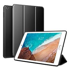 Custodia Portafoglio In Pelle Cover con Supporto L01 per Xiaomi Mi Pad 4 Plus 10.1 Nero