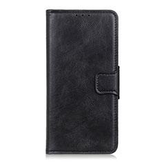 Custodia Portafoglio In Pelle Cover con Supporto L02 per Apple iPhone 12 Max Nero