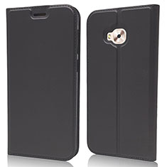 Custodia Portafoglio In Pelle Cover con Supporto L02 per Asus Zenfone 4 Selfie Pro Nero