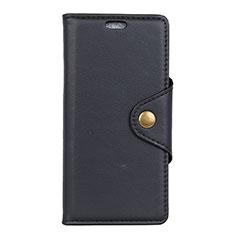 Custodia Portafoglio In Pelle Cover con Supporto L02 per Asus Zenfone Max ZB663KL Nero