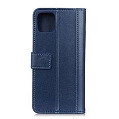 Custodia Portafoglio In Pelle Cover con Supporto L02 per Google Pixel 4 Blu