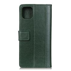 Custodia Portafoglio In Pelle Cover con Supporto L02 per Google Pixel 4 Verde