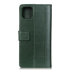 Custodia Portafoglio In Pelle Cover con Supporto L02 per Google Pixel 4 XL Verde