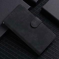 Custodia Portafoglio In Pelle Cover con Supporto L02 per Google Pixel 5 Nero