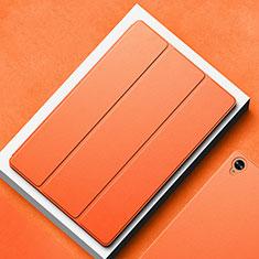 Custodia Portafoglio In Pelle Cover con Supporto L02 per Huawei MatePad 10.8 Arancione