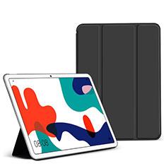Custodia Portafoglio In Pelle Cover con Supporto L02 per Huawei MatePad Nero