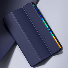Custodia Portafoglio In Pelle Cover con Supporto L02 per Huawei MatePad Pro 5G 10.8 Blu